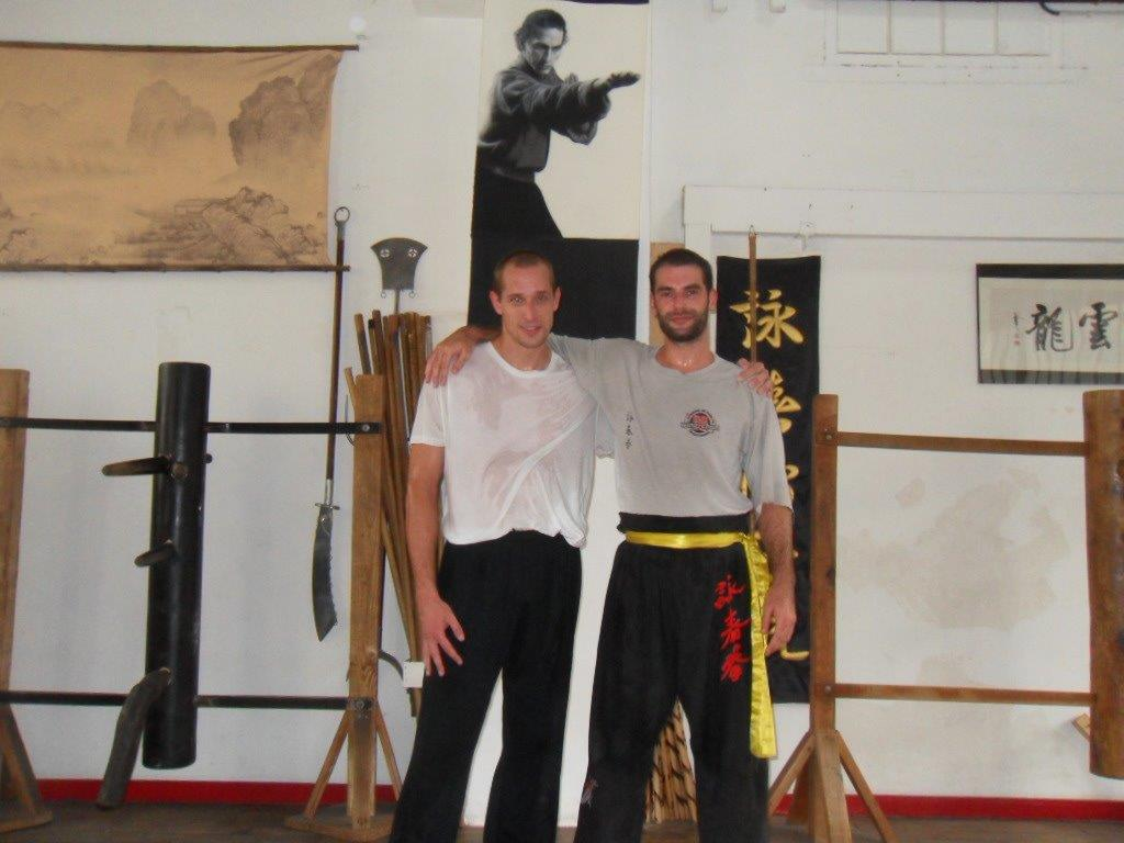 Private Training with Sifu Adrien Jeunemaitre at Master Didier Beddar's Kwoon in Paris