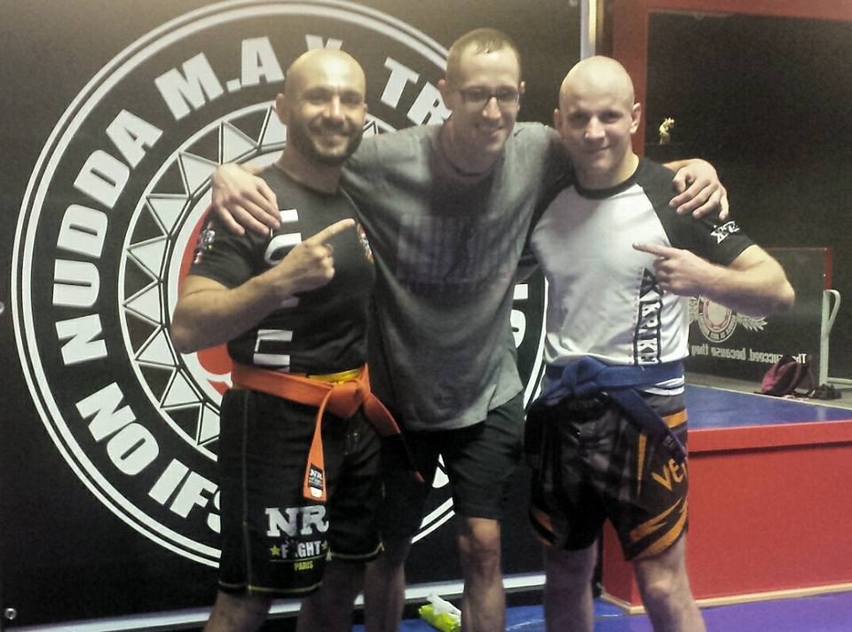 Nudda Maxx Training with Mastru Antonio Faedda & Luta Livre with Julien Pierre in Sardinia