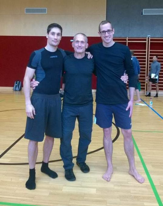 Body Weight Training Seminar with the great Steve Maxwell, and with my good old friend, Peter
